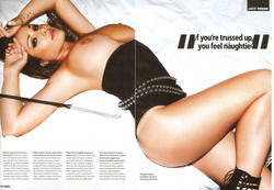 Lucy Pinder Topless in Centrefold photoshoot for Nuts magazine - Hot Celebs Home