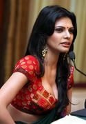 Sherlyn Chopra *ADDS* at Playboy Press Meet in Mumbai on 23rd July 2012