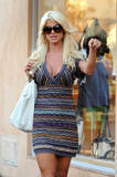 Victoria Silvstedt - Cleavage Dress & Short Shorts Saint Tropez 4 HQ