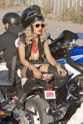 Rita Ora Filming a Music Video in Kosovo 8th September x50