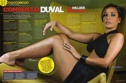 Consuelo Duval Mercedes Desnuda Pehuanis Fakes