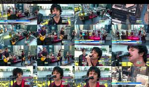 Green Day - Oh Love + Holiday + Basket Case + Stay The Night (Cut) [Good Morning America 09-14-12] (720p)