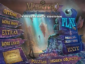 Maestro 3: Music from the Void – Collector's Edition