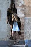 Mary-Kate Olsen leaving her Manhattan residence