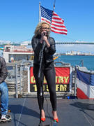 Jamie Lynn Spears - Concert aboard the USS Iowa in San Pedro 04/02/14