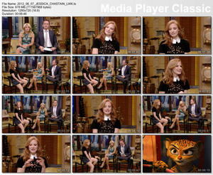 Jessica Chastain - Live with Kelly and Michael 6/7/12