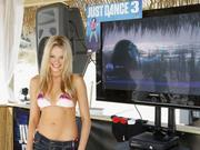 Катрина Боуден, фото 788. Katrina Bowden - Spring Breakers dancing on the beach in Panama - 03/08/12, foto 788