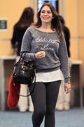 Sophie Simmons @ Vancouver International Airport - January 3, 2012