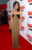 Emmanuelle Chriqui shows cleavage at the movie premiere of You Don't Mess with the Zohan