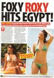 Roxanne Pallett - BIKINI Pics - Collage - Zoo Magazine - Week of June 13 2008 - (x2)